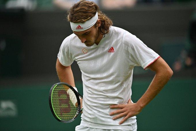 Tsitsipas Tiafoe ATP Wimbledon