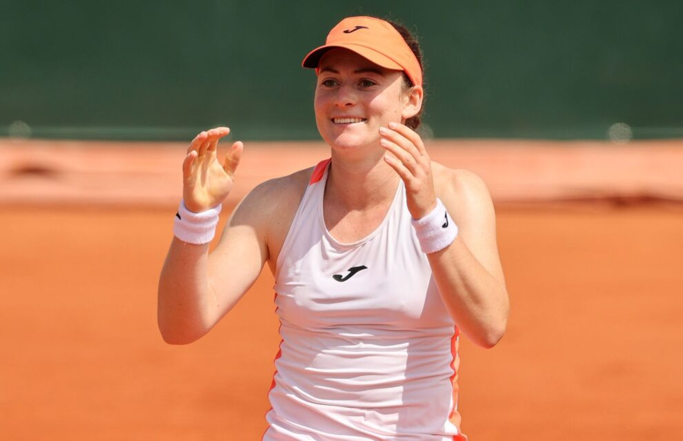 Badosa Zidansek Roland Garros