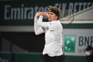 Zverev Safiullin Roland Garros