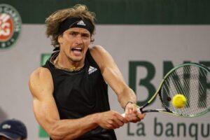 Zverev Nishikori Roland Garros