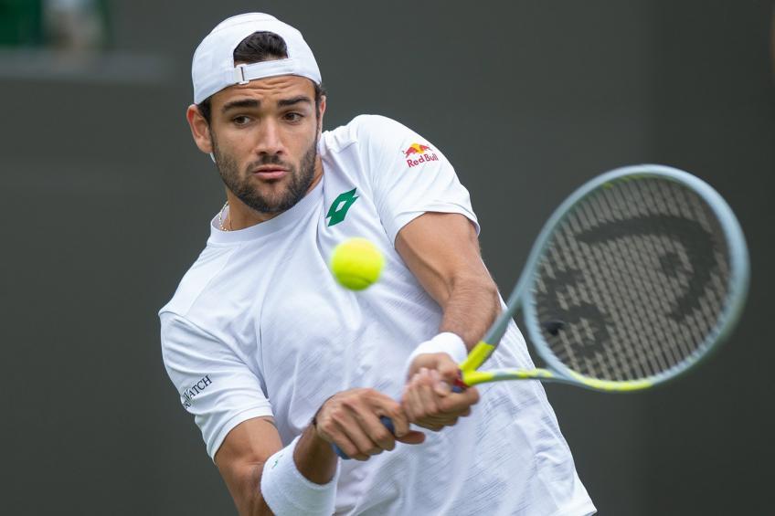 Berrettini Van de Zandschulp Wimbledon