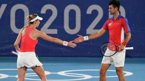 Djokovic Stojanovic dobles mixto