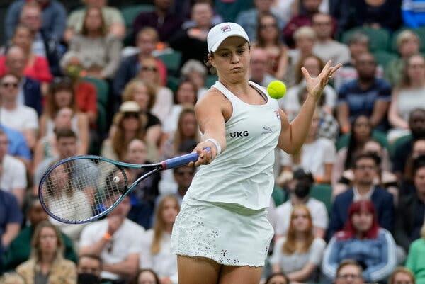Barty Kerber Wimbledon