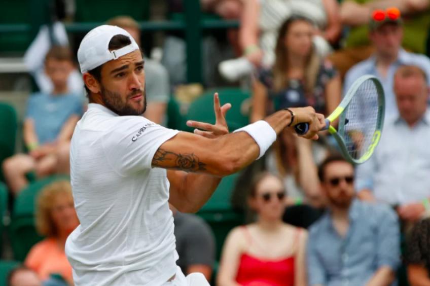 Berrettini Shapovalov ATP Wimbledon