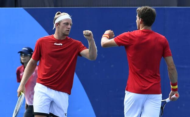 Españoles dobles tenis JJOO