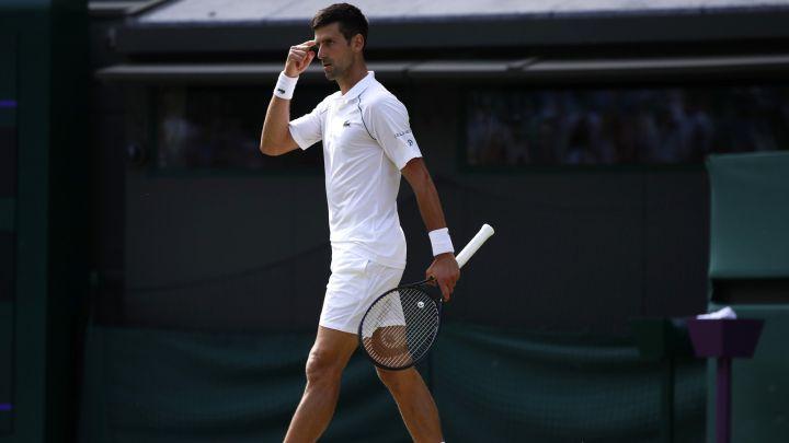 Djokovic Garín atp wimbledon