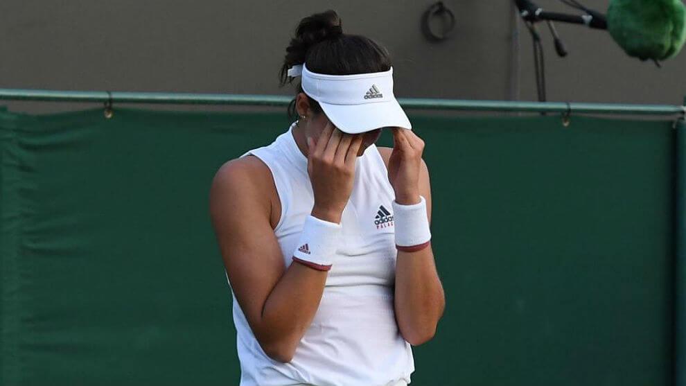 Muguruza eliminada Wimbledon 2021