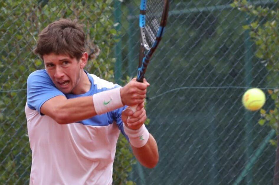 Alejandro Manzarena primer punto ATP