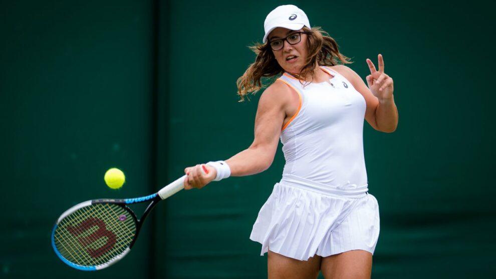 Mintegi campeona Junior Wimbledon