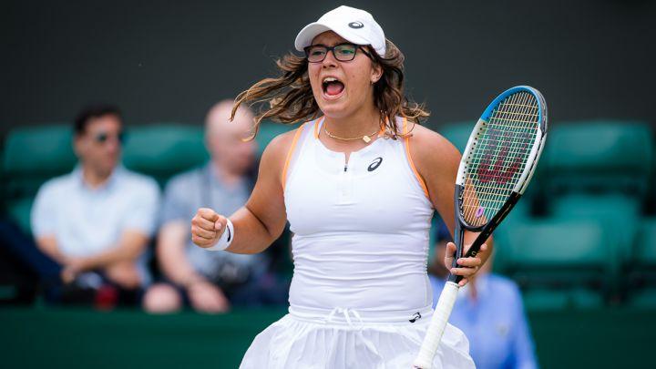 Mintegi semifinales Wimbledon Junior