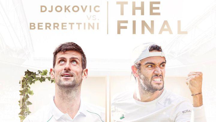 Previa final Wimbledon 2021 djokovic berrettini