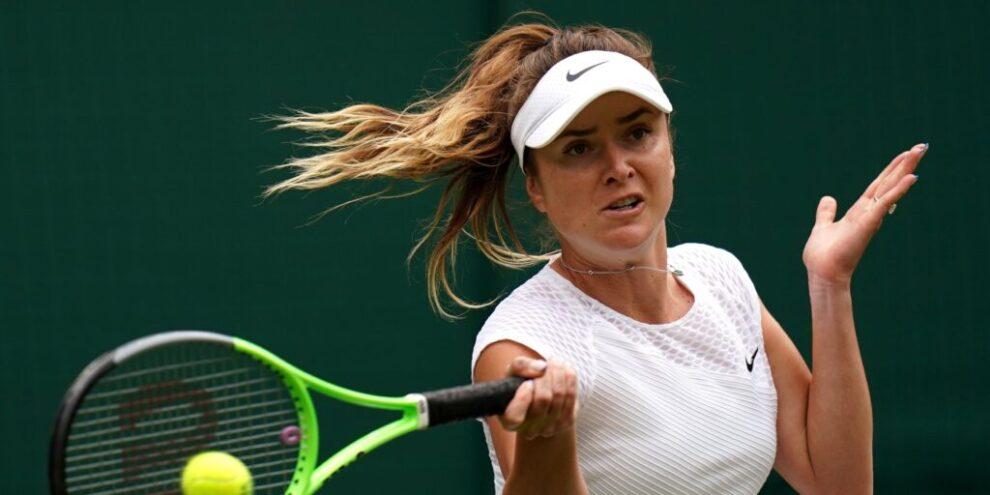 Svitolina Linette Wimbledon