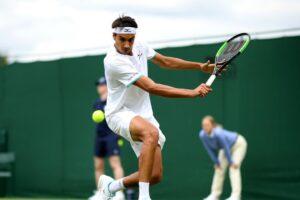 Sonego Galán ATP Wimbledon