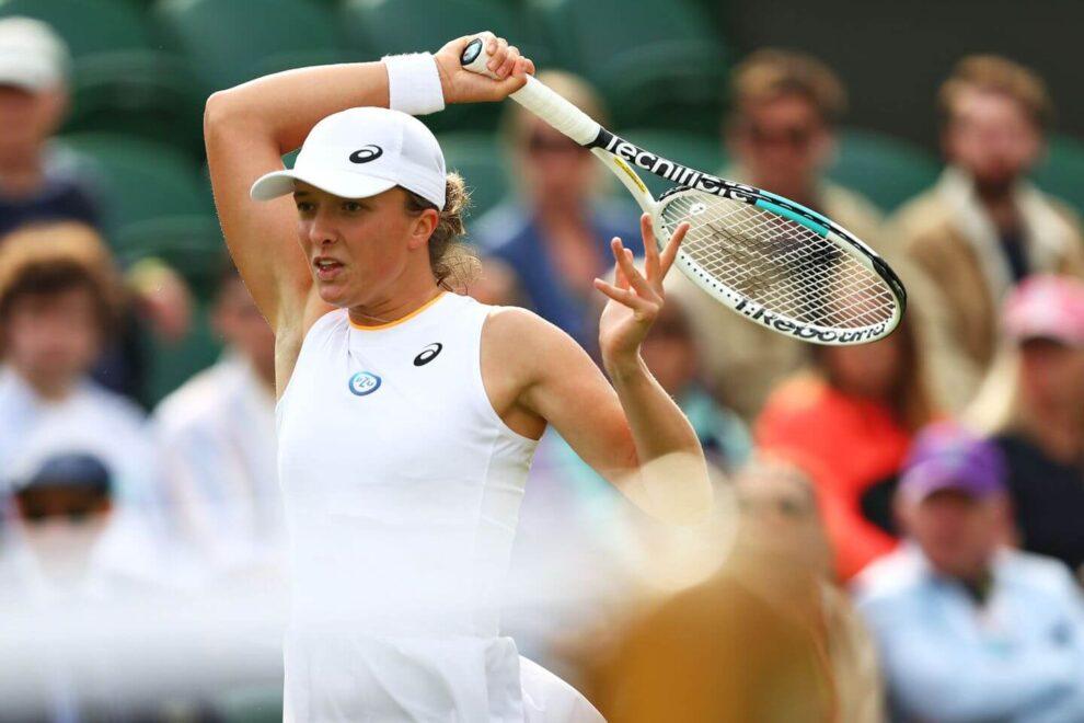 Swiatek Begu Wimbledon