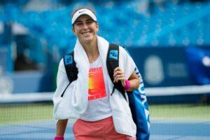 Bencic Vondrousova WTA Cincinnati