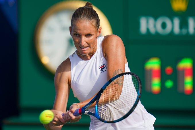 Pliskova Sorribes WTA Montreal