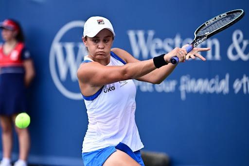 Barty Krejcikova WTA Cincinnati