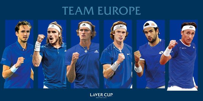 equipo Europa laver cup 2021