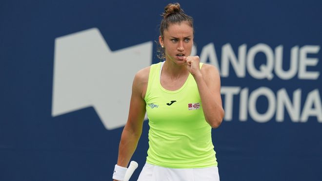 Sorribes Zhang WTA Cleveland