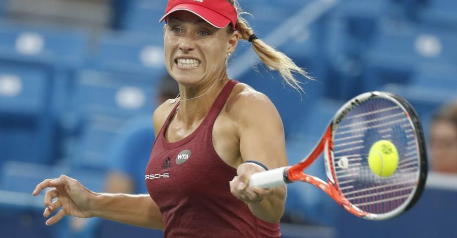 Kerber Svitolina WTA Cincinnati