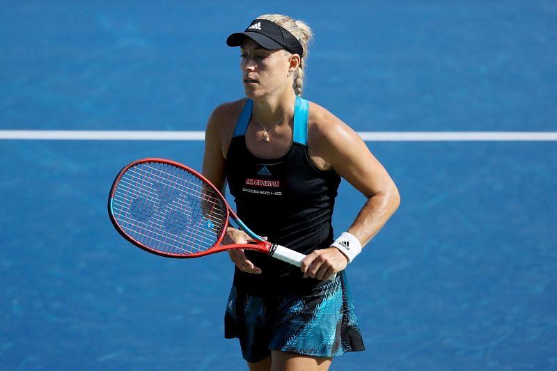 Kerber Kvitova WTA Cincinnati