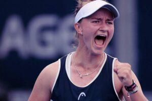 Muguruza Krejcikova WTA Cincinnati