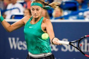 Kvitova Keys WTA Cincinnati