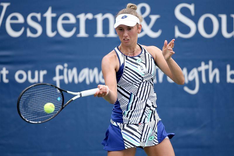 Mertens Podoroska WTA Cincinnati