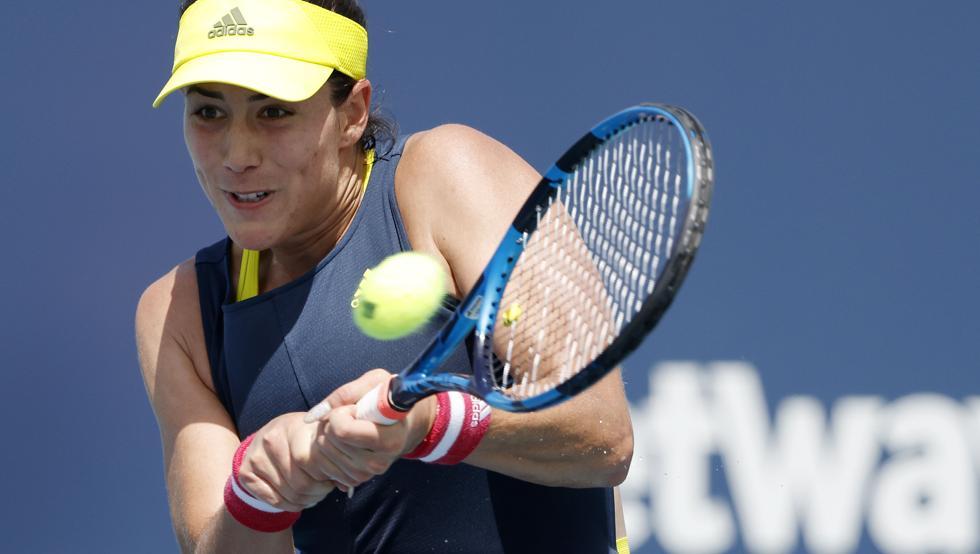 Muguruza Garcia WTA Cincinnati