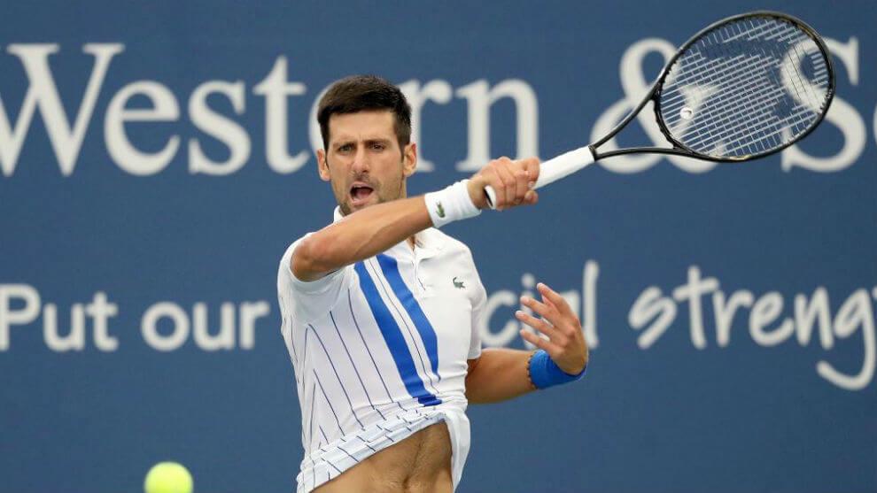Djokovic presión us open