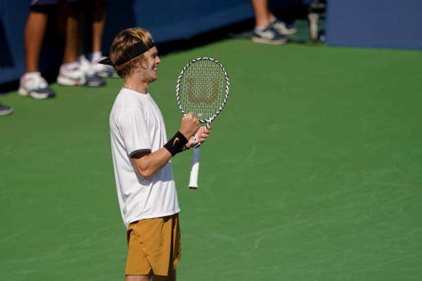 Rublev Monfils ATP Cincinnati