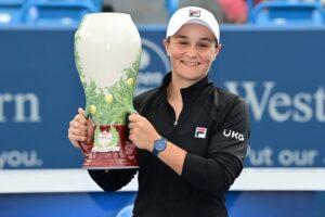 Barty Teichamnn WTA Cincinnati