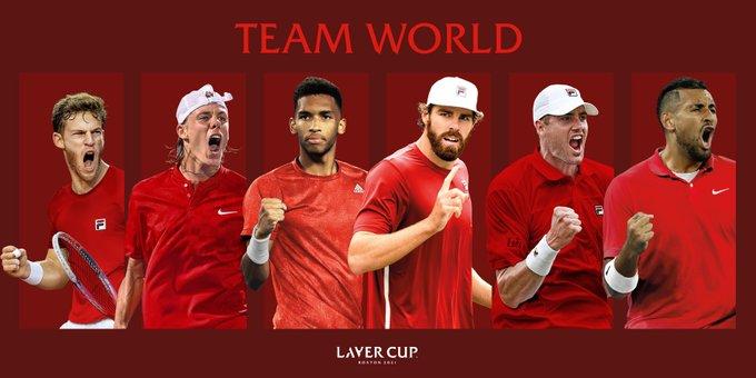equipo resto del mundo laver cup 2021