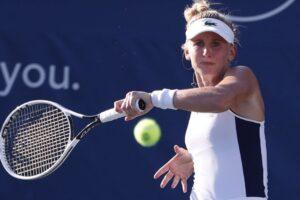 Teichmann Pliskova WTA Cincinnati