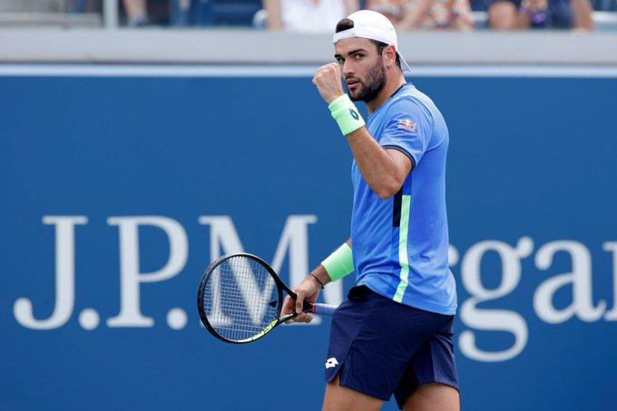 Berrettini Chardy US Open