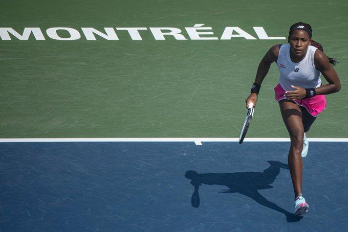 Gauff Sevastova WTA Montreal