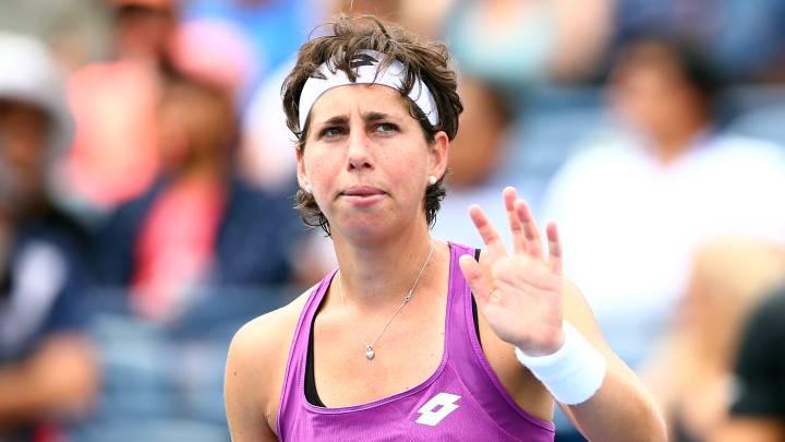 Carla Suárez carrera tenis