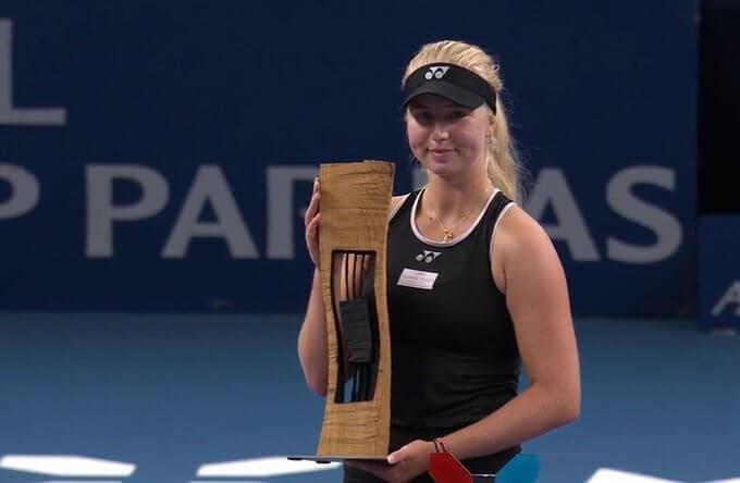 Tauson Ostapenko WTA Luxemburgo