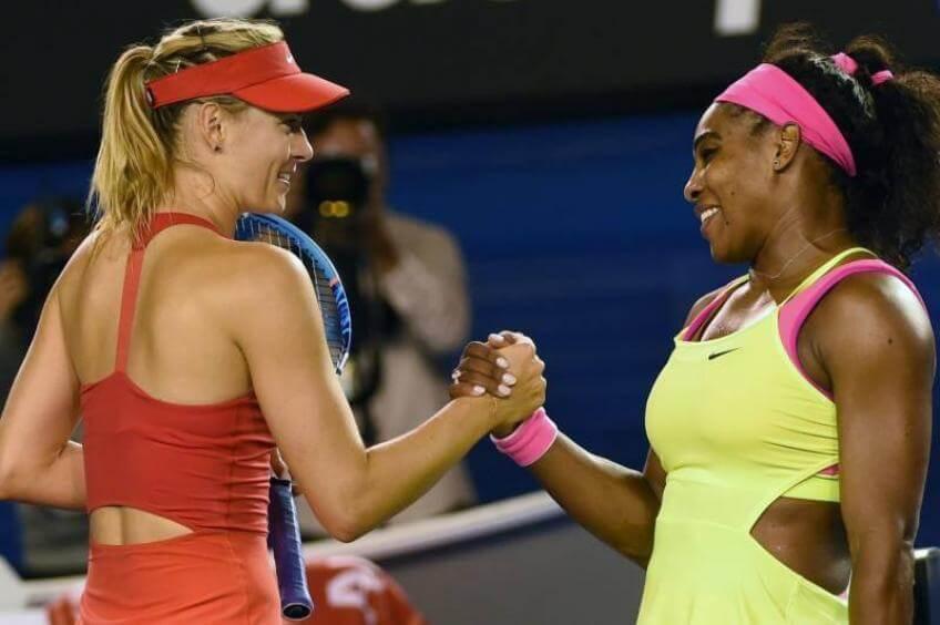 foto hermanas Williams y Sharapova