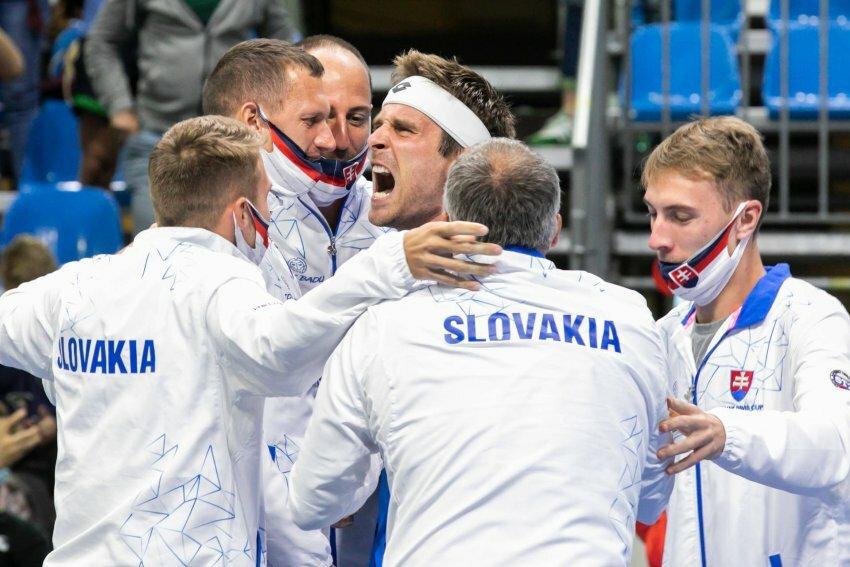 Resumen Eslovaquia Chile Copa Davis