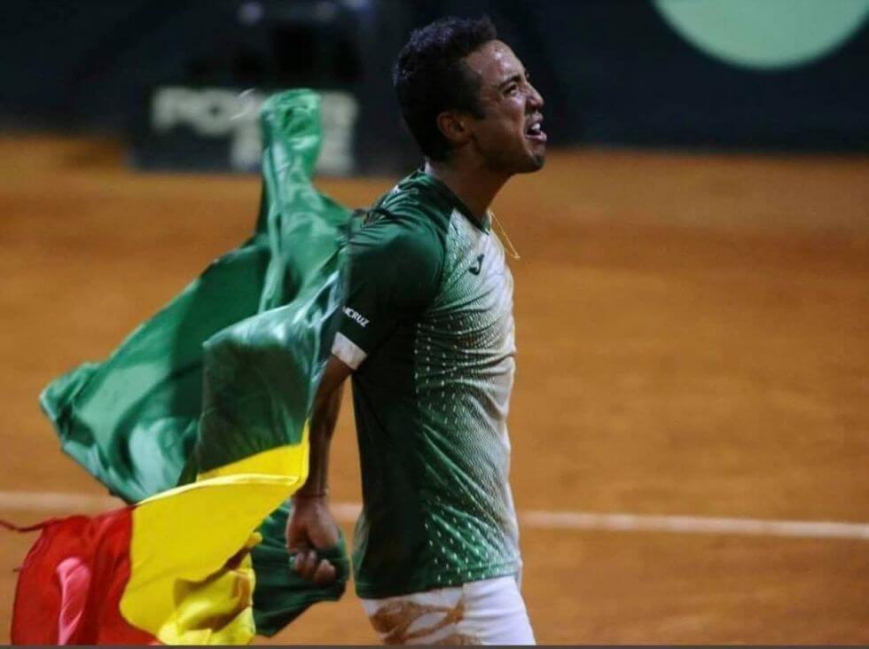 Previa Copa Davis Bolivia Bélgica