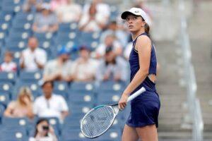 Swiatek Loeb US Open