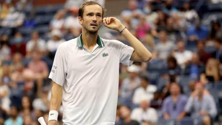 Medvedev Van de Zandschulp US Open