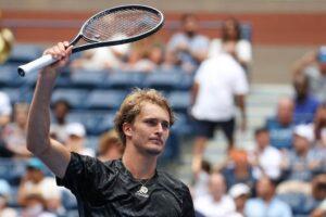 Zverev Harris US Open