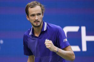 Medvedev Djokovic US Open