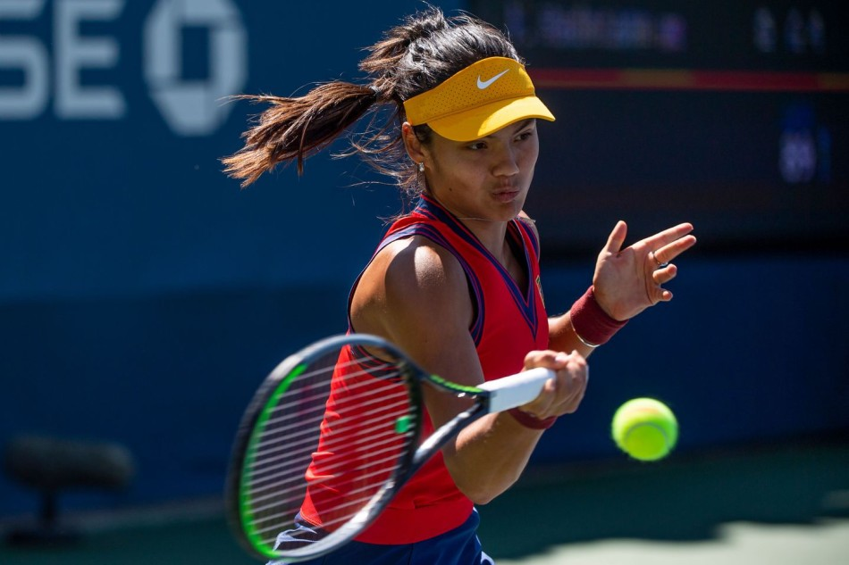 Raducanu Sorribes US Open