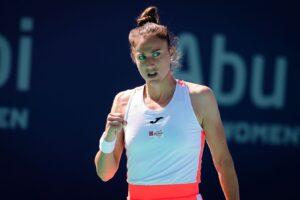 Sorribes Zakharova WTA Ostrava