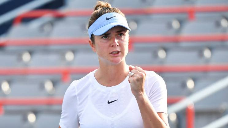 Svitolina Anisimova WTA Chicago