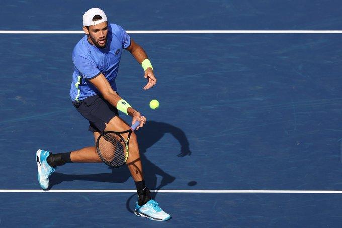 Berrettini Moutet US Open