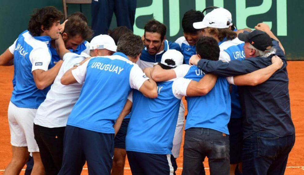 Previa Copa Davis Uruguay Países Bajos